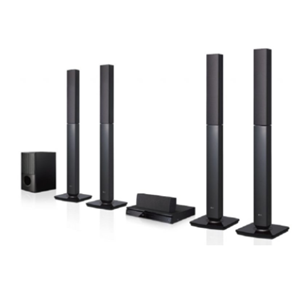 Home Theater System LG  5.1Ch LHD657