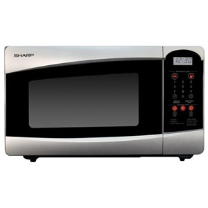 SHARP R25C1SIN Microwave with Ramen Menu