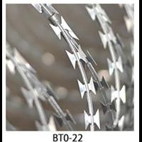 Jual Kawat Duri Silet BTO 22 / Razor Wire BTO 22