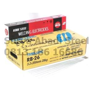 Kawat Las Kobe RB 26 AWS E6013/ JIS D 4313 (3.2mm/4mm/5mm- 20Kg)
