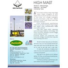 Tiang High Mast Automatic Lowering System (Tiang Lampu Polygonal) 1