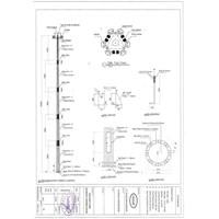 Tiang High Mast Automatic Lowering System (tiang besi poligonal) Murah 5
