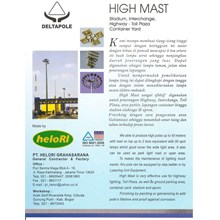 Tiang High Mast Automatic Lowering System (Tiang L