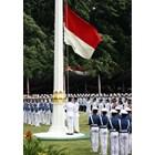 Tiang Bendera Poligonal Tiang Besi Galvanis 1