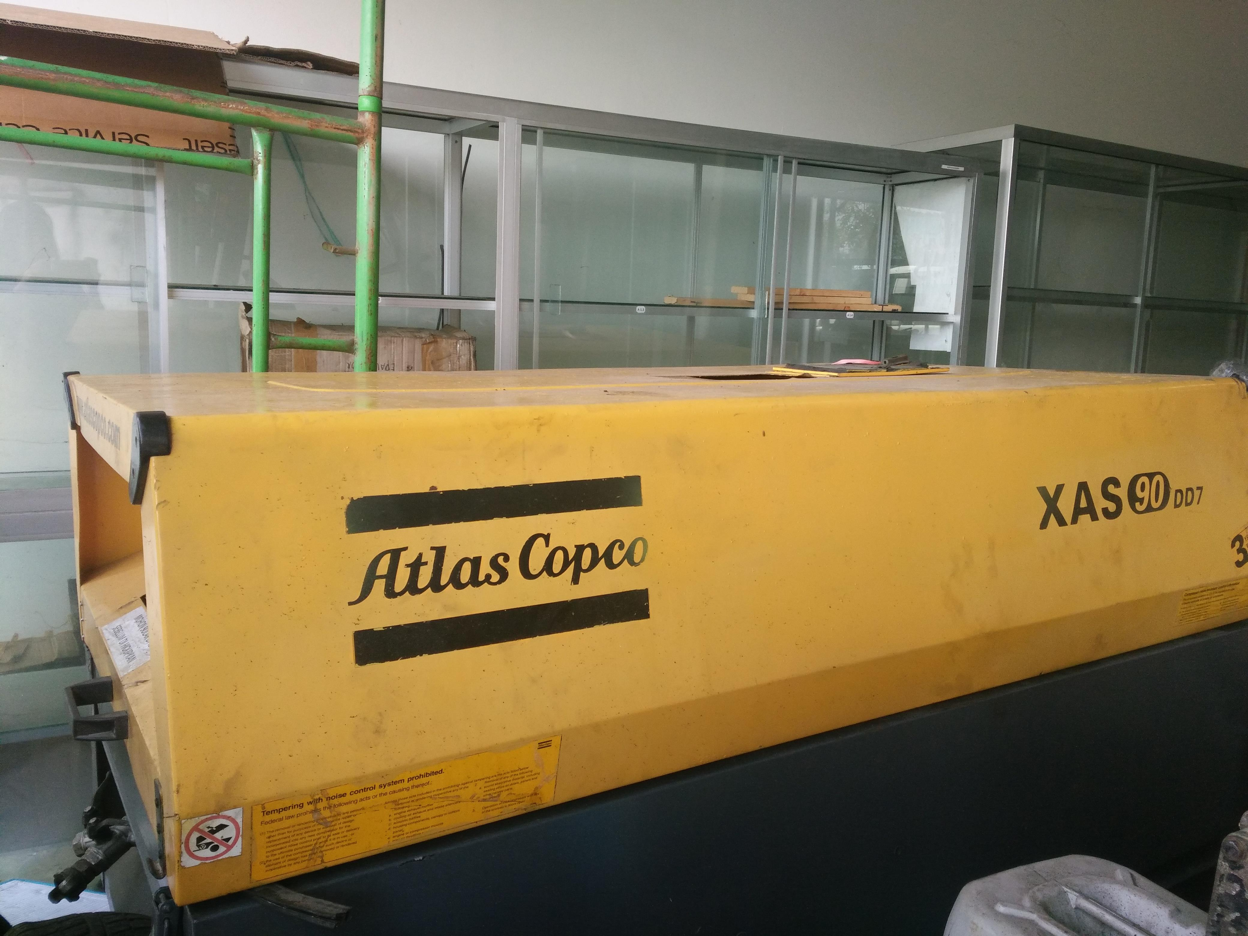 Sell Atlas Copco Air Compressor Xas 90 Dd7 from Indonesia by PT  TECONINDO,Cheap Price