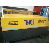 Rental Unit Atlas Copco  Air Compressor Dryer System Xas 97 190 Cfm 1