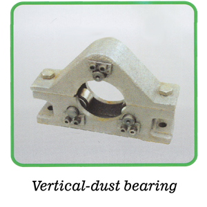 Vertical-dust bearing