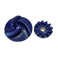 Distributor Abrasive Lining Impeller Expeller Polyurethane Chemical 3