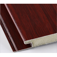 Jual Integrated Wall Black Cherry Wooden 2