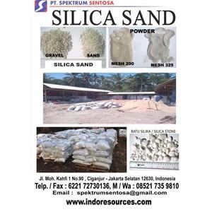 Silica Powder Pasir Silika Batu Silika