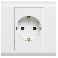 Jual Socket Outlets Hager WXES116 15A & 16A
