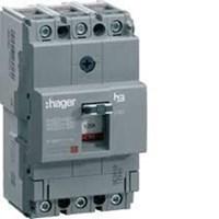 Jual MCB / Circuit Breaker  MCCB 4P 160A HAGER  Breaking Capacity : 18kA