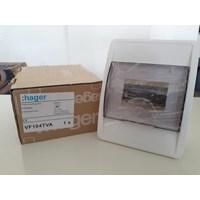 Box MCB  MCB BOX 4 GROUP VS104TVA Transparant HAGER