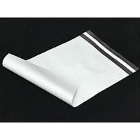 Jual Kemasan Pouch Dan Amplop Plastik Polymailer White Double Layer 60 Mc 35 X 45 + 5 Cm