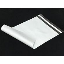 Kemasan Pouch Dan Amplop Plastik Polymailer White Double Layer 60 Mc 35 X 45 + 5 Cm
