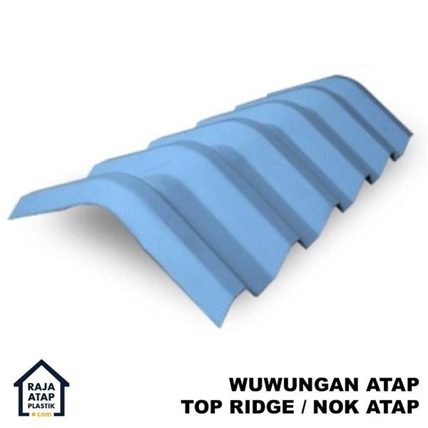 Wuwungan Atap uPVC