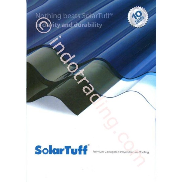 Atap Polycarbonate Gelombang Solartuff (Greca)