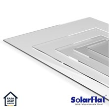Polycarbonate Solid Sheet Solarflat (6 mm)