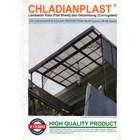 Fiber Plat Transparan Chladian flat (0.8 mm) 2