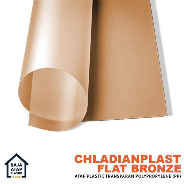 Fiber Plat Transparan Chladian flat (0.8 mm)