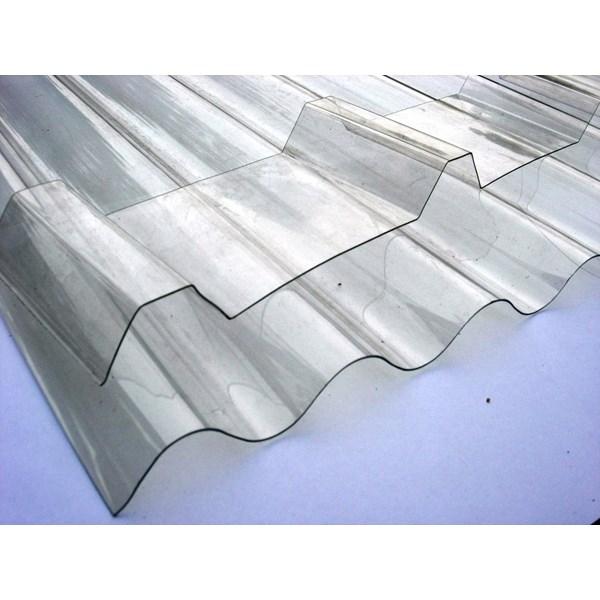 Atap Transparan Spandek Trimdek