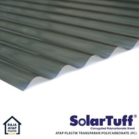 Corrugated Polycarbonate Roofing Solartuff (Roma)