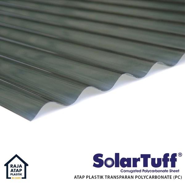 Corrugated Polycarbonate Roofing Solartuff (Roma)