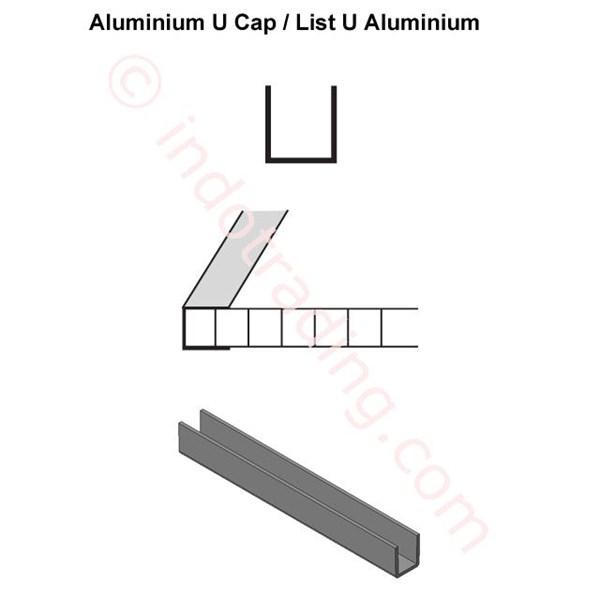 List U Profil Alumunium