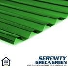 Atap Polycarbonate Gelombang Transparan Serenity (Greca) 3