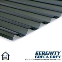 Jual Atap Polycarbonate Gelombang Transparan Serenity (Greca) 2