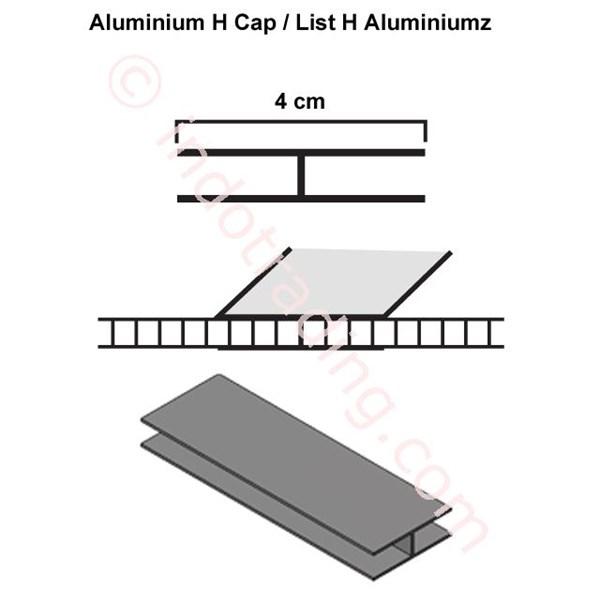 List H Profil Aluminium