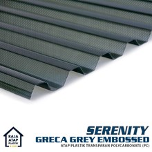 Polycarbonate Embossed Roofing Serenity