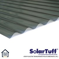 Polycarbonate Corrugated Roof - Serenity Greca