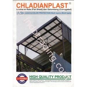 PP Sheet Plastik Polypropylene Chladianflat