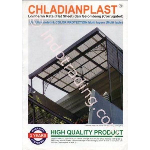 Atap Plastik Plat Chladian Flat (1 mm)