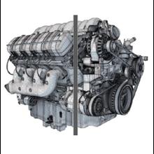 Main Engine And Spare Hanshin