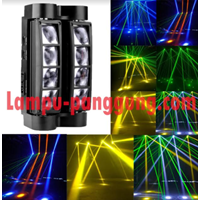 Lampu Mini Spider 8x10 Watt