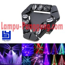 Lampu Movinghead spider 9x10w 4in1 Moving Led BYS910FC