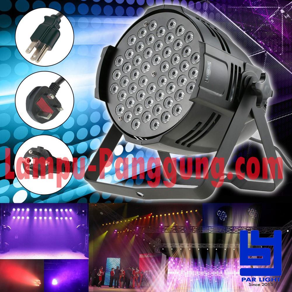 Jual Lampu Par Led 54x3W RGBW Best Quality Harga Murah