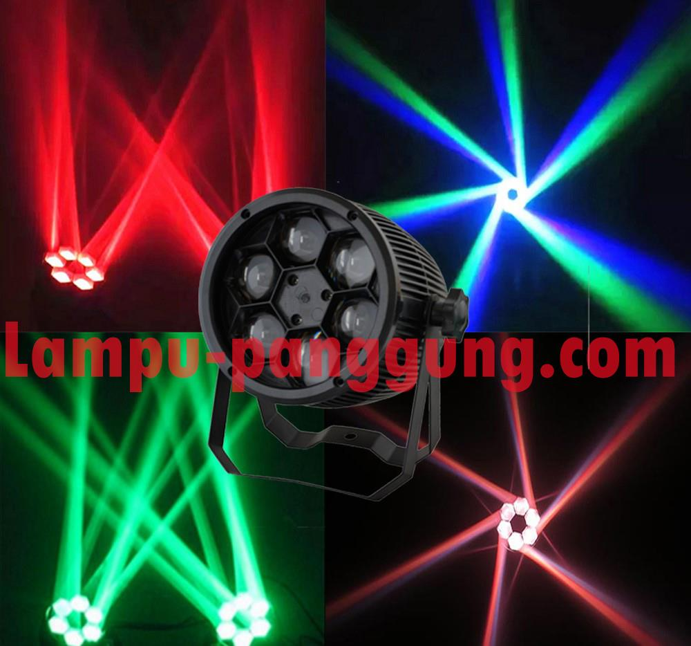 Jual Lampu Par Led Bee Eye Par 6x10w Full Color Harga