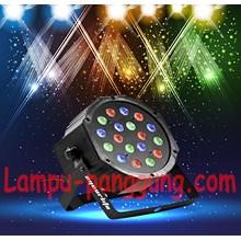 Lampu par led 18x3 watt RGB
