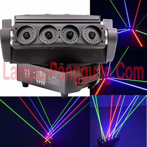 Lampu Laser Moving Spider