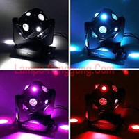 Lampu Moving Head Cube Laser 12x12w Full Color