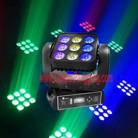 Lampu Moving Matrix 9x12W 4in1 Full Color