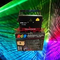 Lampu Laser Profesional Stage Original 1 Watt RGBW