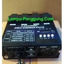 Stage lighting dimmer pack