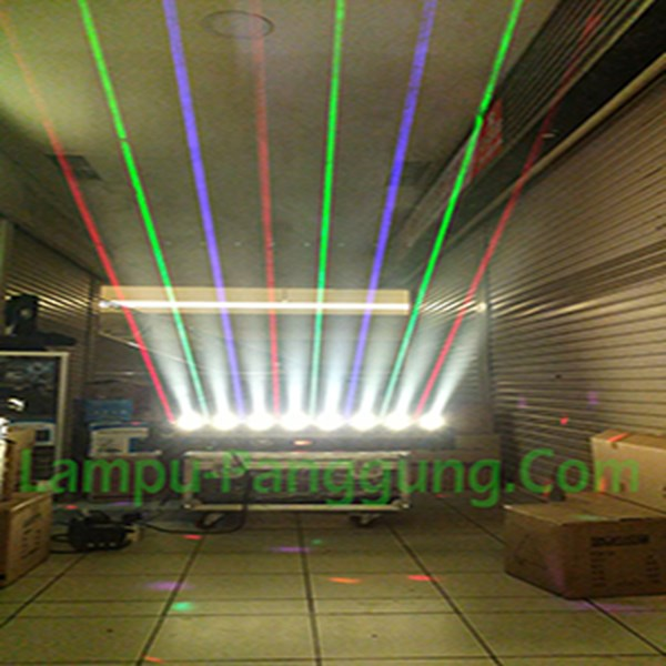 Lampu Moving Head Rotation Laser  Spot Light