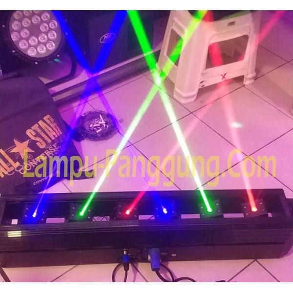 Moving Head Laser Rotation 6 Eye