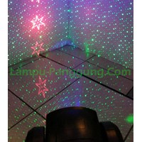 Lampu Moving Head Laser Background RGB