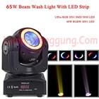 Lampu Moving Head Mini 65W Spot RGBW 3